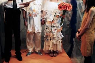 """תערוכת """"חתונה"""": ראיון אישי עם עומר גולדמן ותמר כץ"""