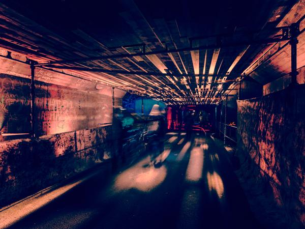מייצב גשר רכבות, צילום: פטריק האנר הלין