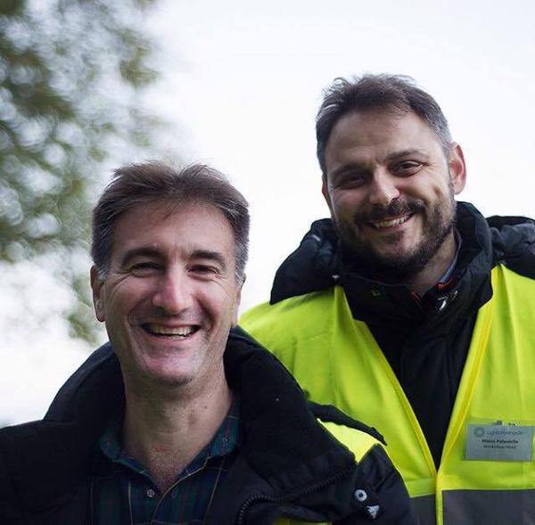 רוברטו (משאל) ומרקו (מימין), צילום - פטריק האנר הלין