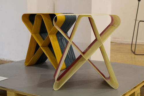 אנדריי גרישקו, מתוך סדרת שרפרפים בליפוף ממוחשב. צילום: שני הרצברג