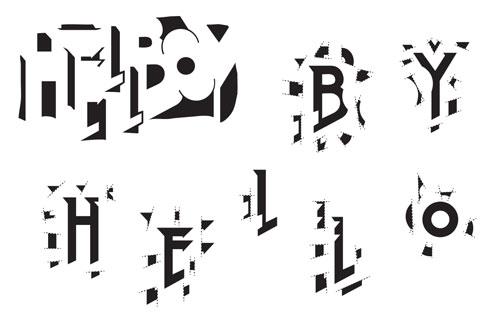 מולי יחבס - פירוק לסגנונות וחלל נגטיבי של לוגו הלבוי
