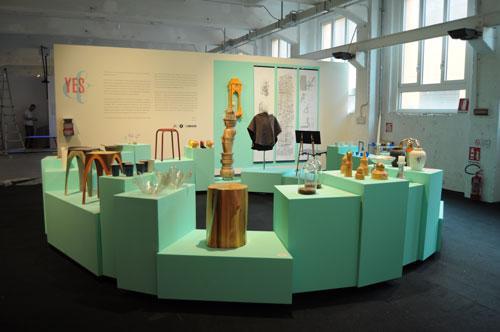 טריאנלה, מבט כללי על התערוכה. צילום: טל ימין