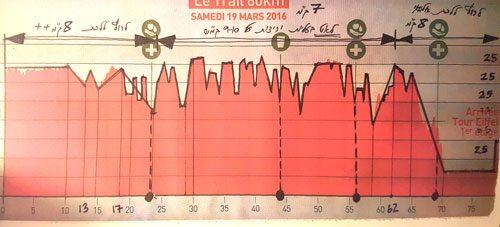 תכנית הריצה של אילון ערמון בשביל Eccotrail Paris