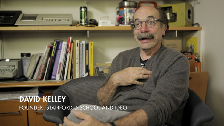 David Kelly - Stanford school, מתוך הסרט