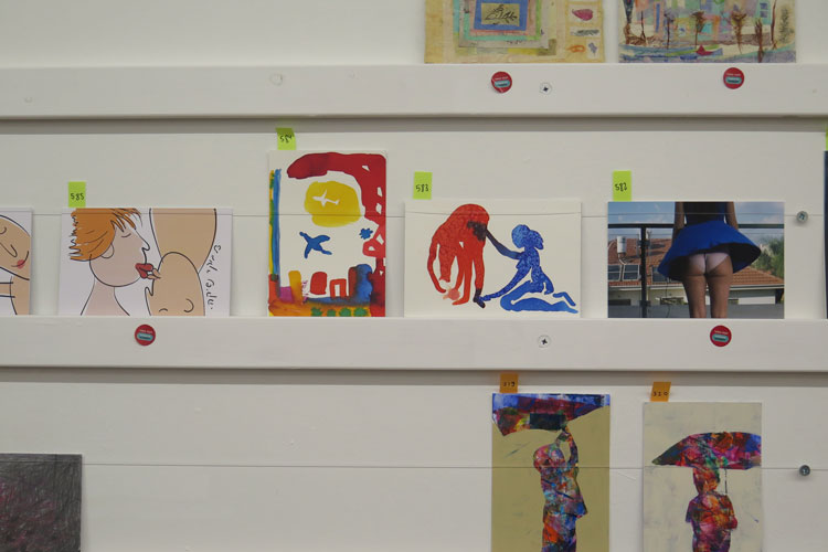 ההכנסות מהפרויקט מועברות במלואן למרכז מאירהוף לחינוך לאמנות של מוזיאון תל אביב.