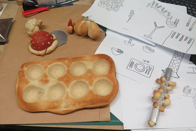 חווית אכילה בלחם, הפרויקט של דניאל אמיר. צילום: שני הרצברג