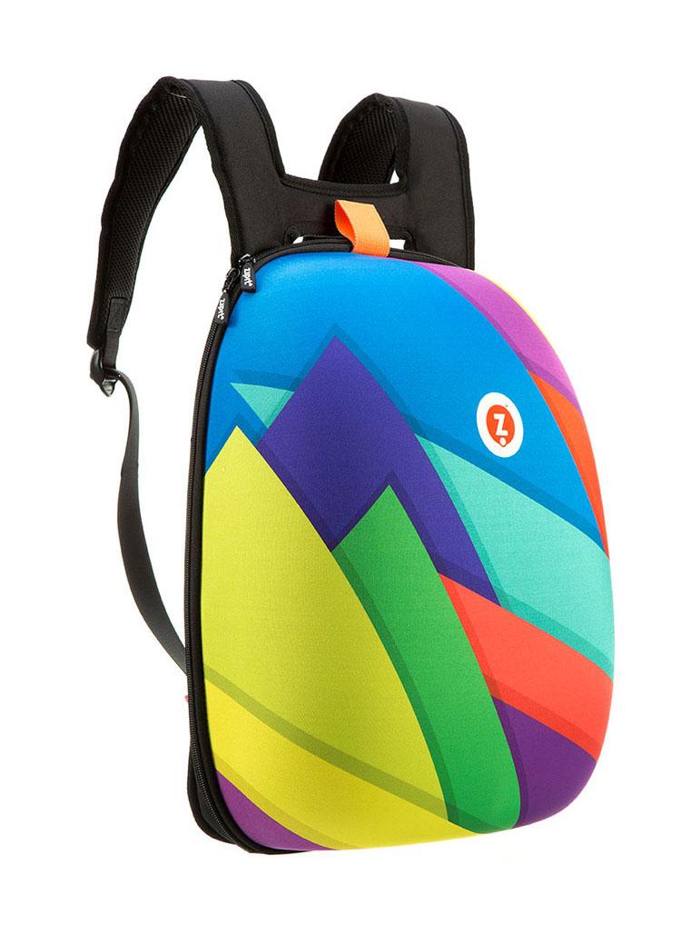 תיק גב קשיח מדגם Hard Shell שעיצב יהונתן קרוינקל עבור חברת Zipit. צילום: Zipit