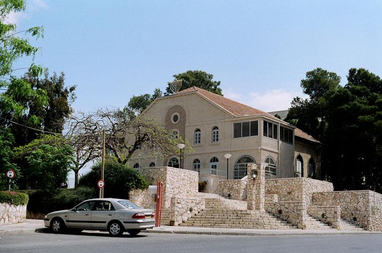 בית הכנסת הגדול ברחובות לפני השיפוץ ועבודות השימור. צילום: אדר' ליבנה שואף-רונן
