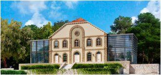הדמיית בית הכנסת הגדול ברחובות לאחר עבודות השימור, נעשתה על ידי רן צרפתי