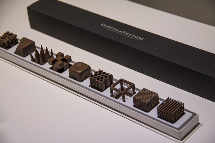 מרקם שוקולד, בין טעם לצורה המרווח שבין לבין. צילום: בר סהר