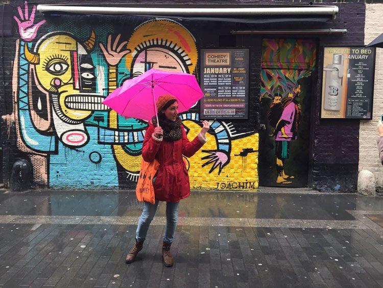 בהדרכת סיור גרפיטי בלונדון