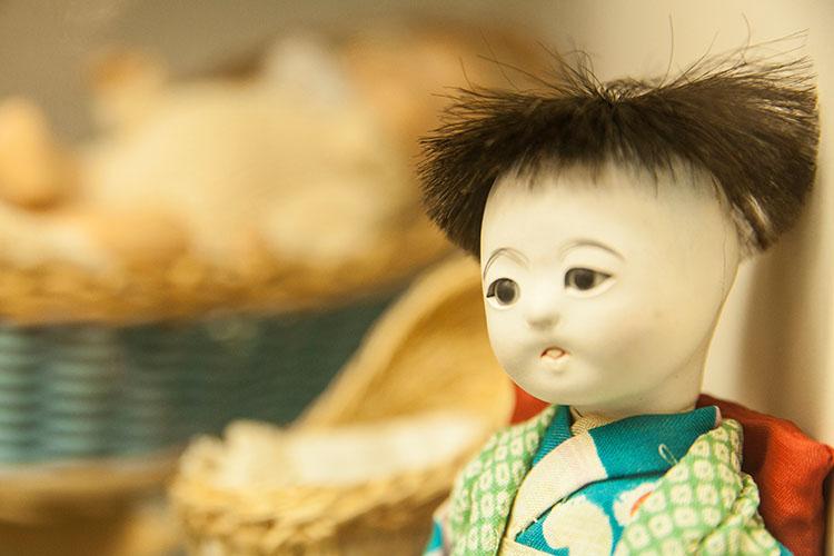 בובת ילדים מיפן. צילום: שגיא שכטר
