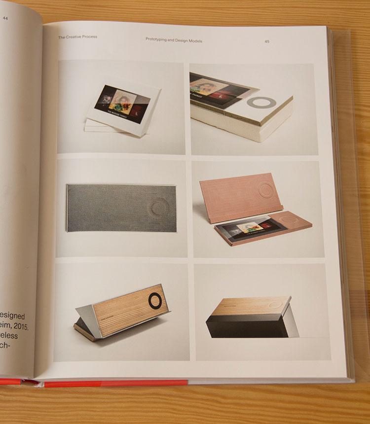 התהליך יצירתי של יצירת הבאוסאונד מומנט (למטה מימין) בעיצובו של פרקנפול פאולהיים, 2015