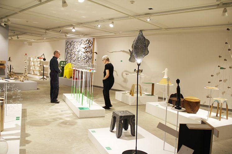 מבט אל התערוכה