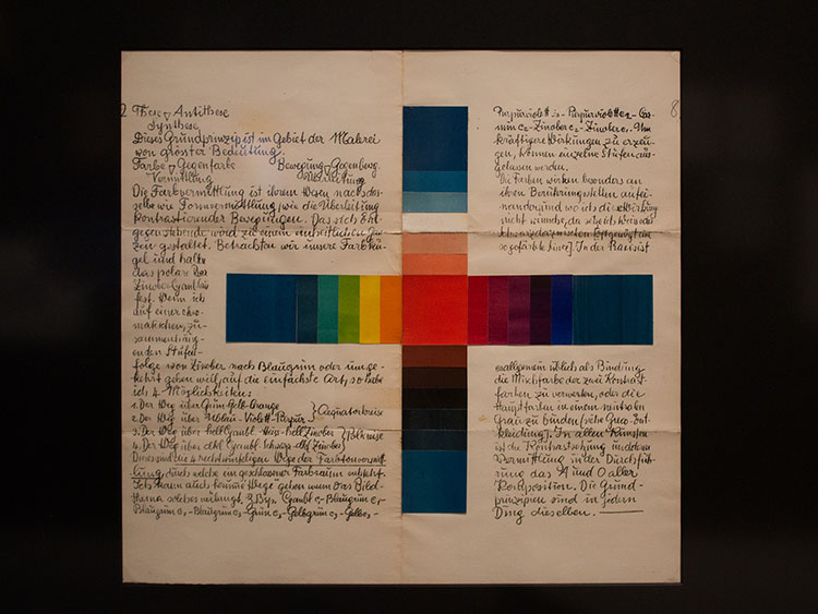 לזלו מוהולי-נאג׳ - השתברות בשחור לבן אפור, 1923. הדפס אבן ציבוני, דף 2 באלבום קסטנר. צילום: שיר ברק