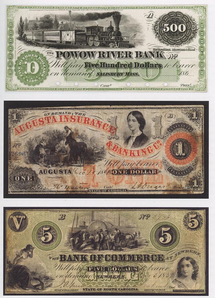 עיטור שטרות 500 דולר, בנק נהר הפובו, ארה״ב, 1862
