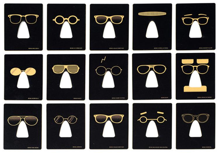 לוקה אור, משקפיים שאיתן תוכל להיות מילהאוס מ'משפחת סימפסון' או קניה ווסט לרגע. צילום: יח