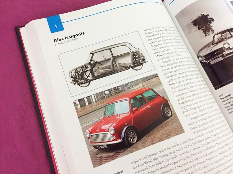 אלק איסיגוניס, המתכנן המקורי של מכונית Mini Cooper