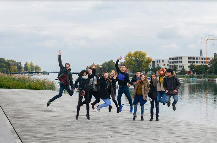 טיול לעיירת קונסטאנץ בדרום גרמניה, על הגבול עם שוויץ