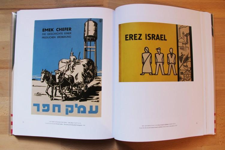 כריכה לחוברת, erez israel 1931 וכריכה לחוברת עמק חפר 1936