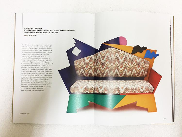 עיצוביו של מנדיני מתאפיינים בהומור ונימה מרדנית אל מול טעמו השמרני של העיצוב האיטלקי המסורתי