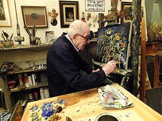 צייר החפצים | ראיון עם הצייר יוסל ברגנר