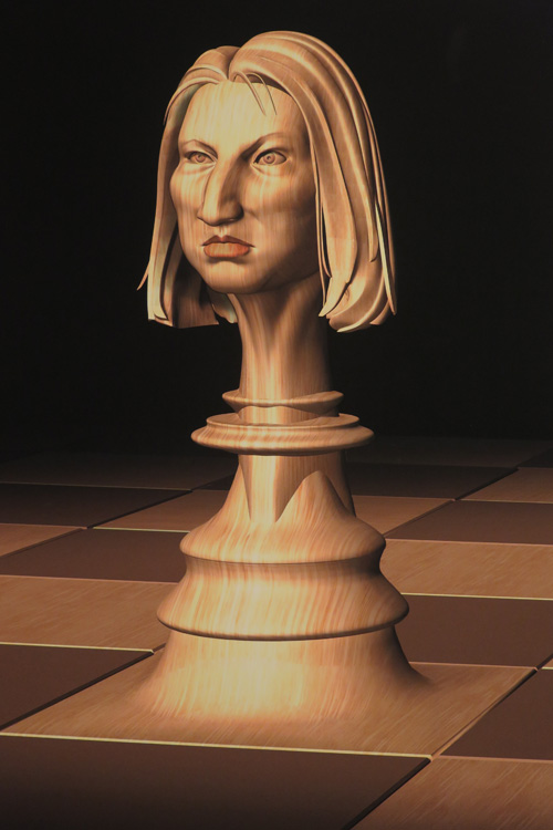 ציפי לבני, מקורקעת אל לוח השחמט, 2016