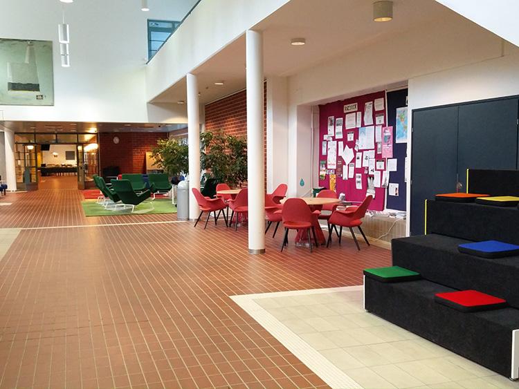 צילומים מתוך האוניברסיטה, חללי עבודה ותערוכות שתלויות