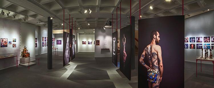 חלל התערוכה. צילום_ ליאוניד פדרול