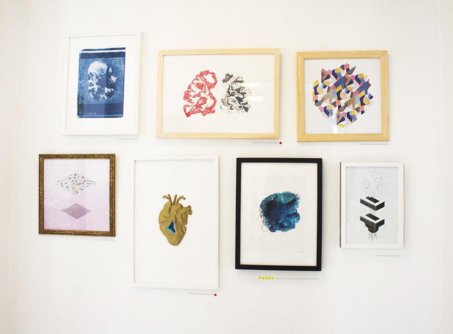 עבודות שהוצגו למכירה בתערוכה 2