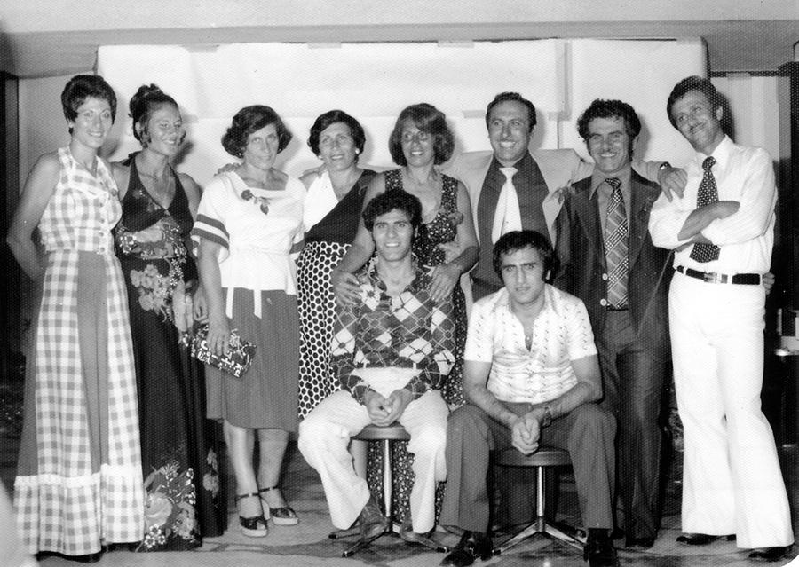 פתיחת בית פרג' 1972. צילום: משפחת פרג׳.