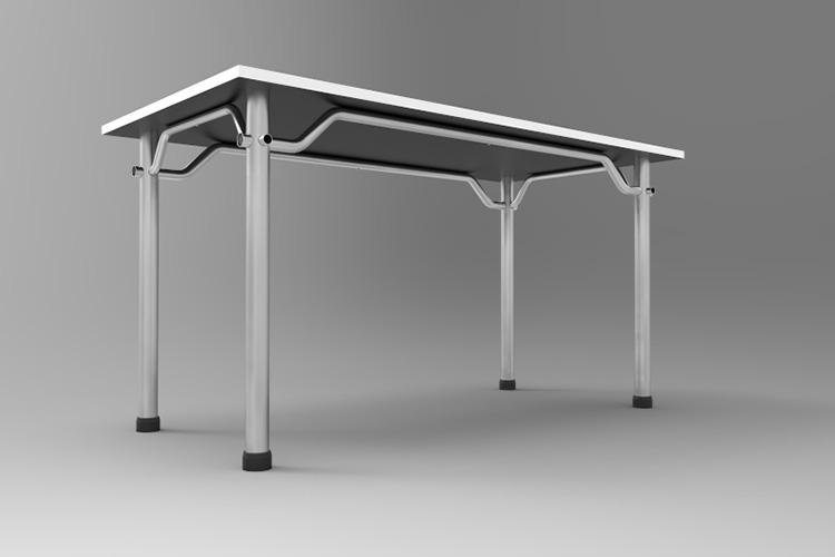 שולחן צינורות מורכב ע