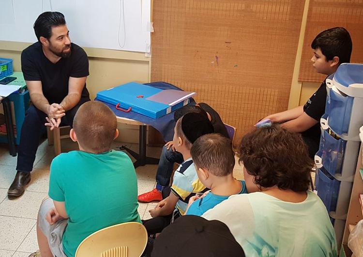 דור מספר לילדים על הפרויקט