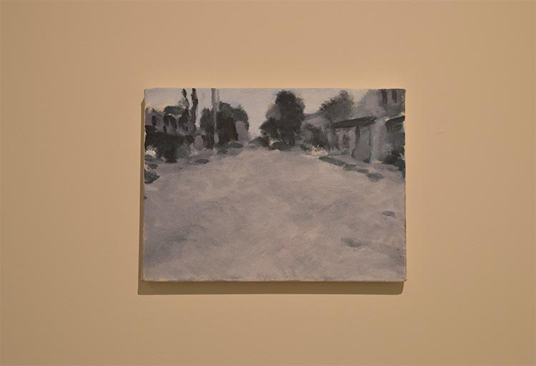 ״מוסול״, איל דניאלי, שמן על בד, 2017