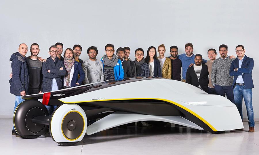 מכונית קונספט שהציג התואר לעיצוב כלי רכב בג׳נבה
