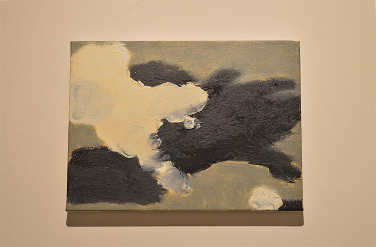 ״קטורת״, איל דניאלי, שמן על בד, 2017