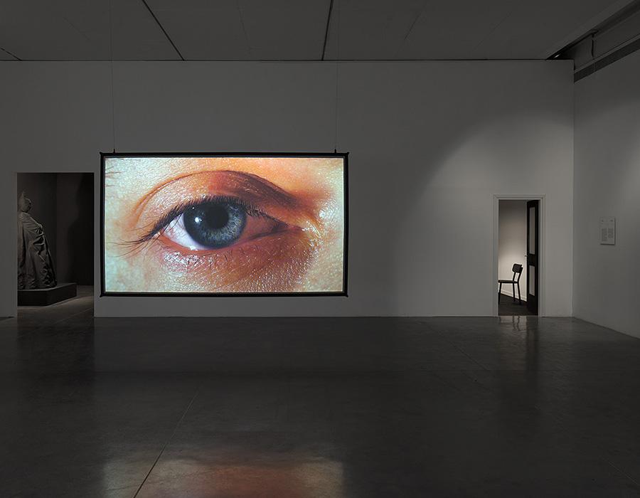 ״מתח פנים״ עבודתו של רפאל לוזאנו-המר אזרחים. צילום: אלעד שריג