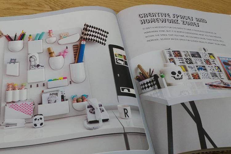 דוגמאות לסביבות עבודה בחדרי ילדים. מתוך: Creative Children's Spaces