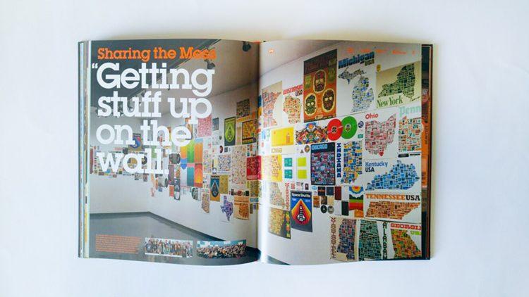 דרפלין יצר לעצמו פרויקטים, בין השאר עיצוב פוסטרים למקומות בהם ביקר.