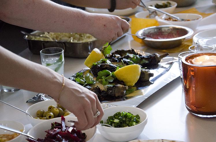 ערב ישראלי ב-Food lab, המטבח של בית הספר