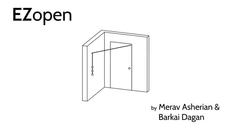 תרשים של המוצר EZopen. צילום: מירב אשריאן.