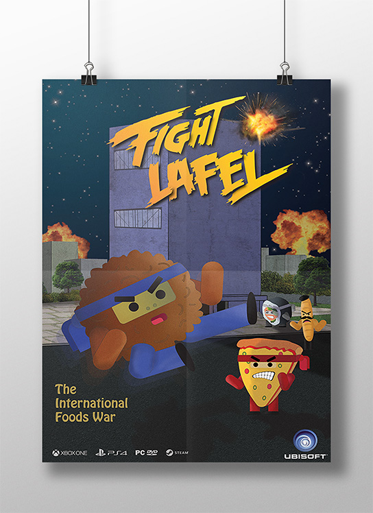 FIGHT LAFEL, יואב אבנד