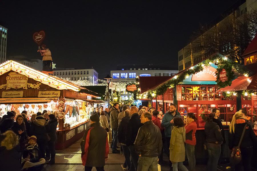שוק חג המולד בעיר Essen