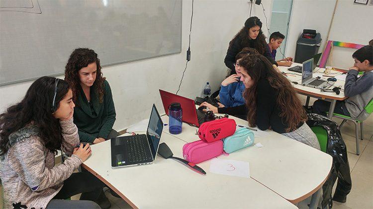 שיעור משותף לסטודנטים ולתלמידים