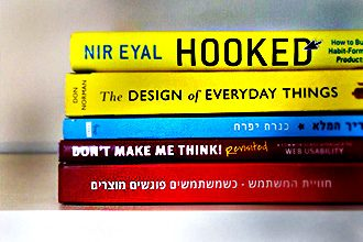 חמישה ספרים מומלצים לעיצוב חווית משתמש