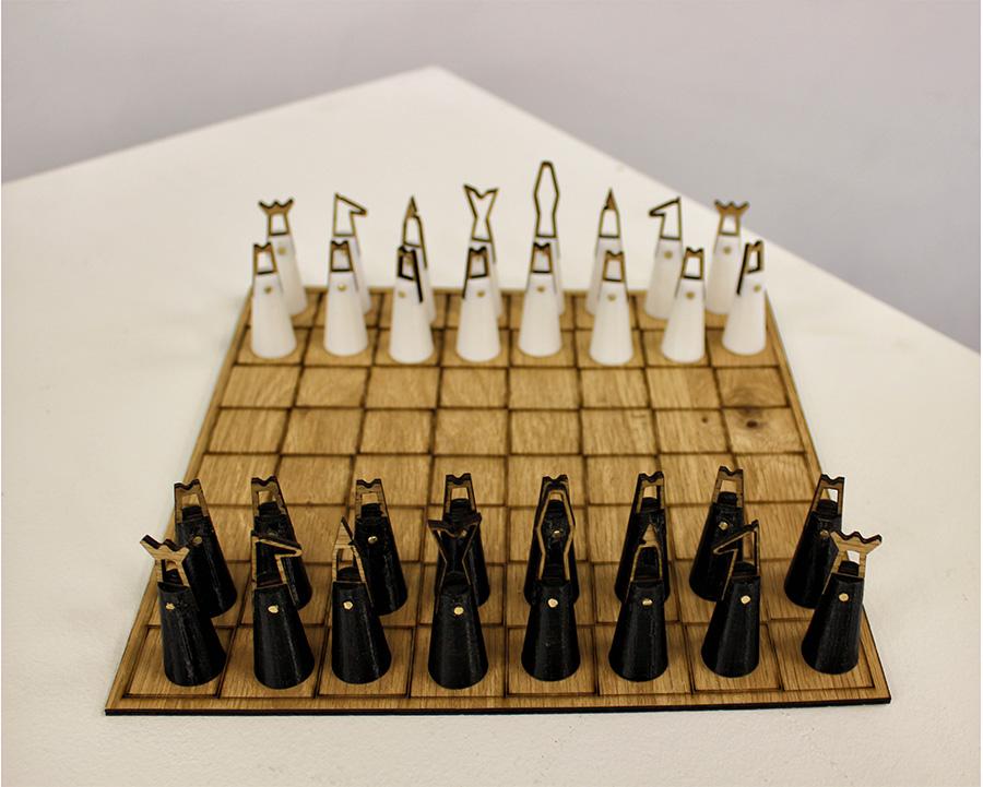חן אגייב: משחק שחמט מעוצב בצורה מודרנית וצעירה