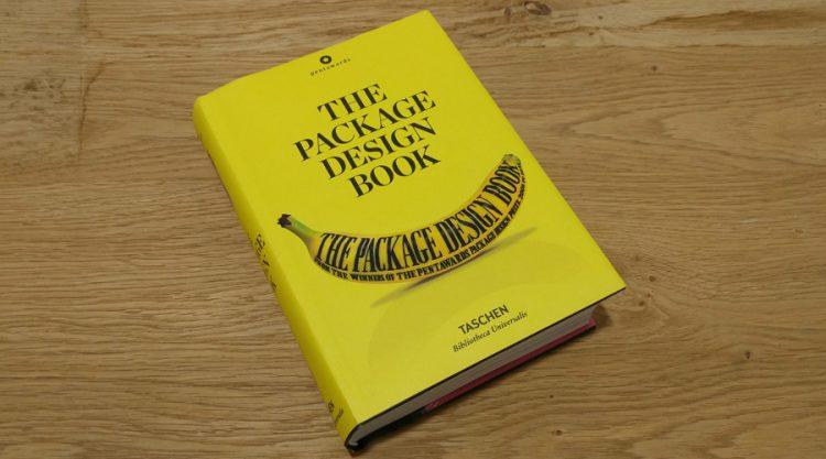 """כריכת הספר """"The Package Design Book"""""""