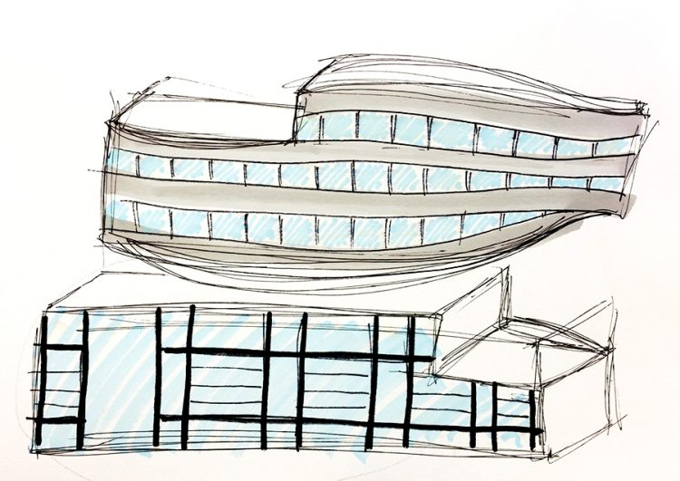 Noga David - The building