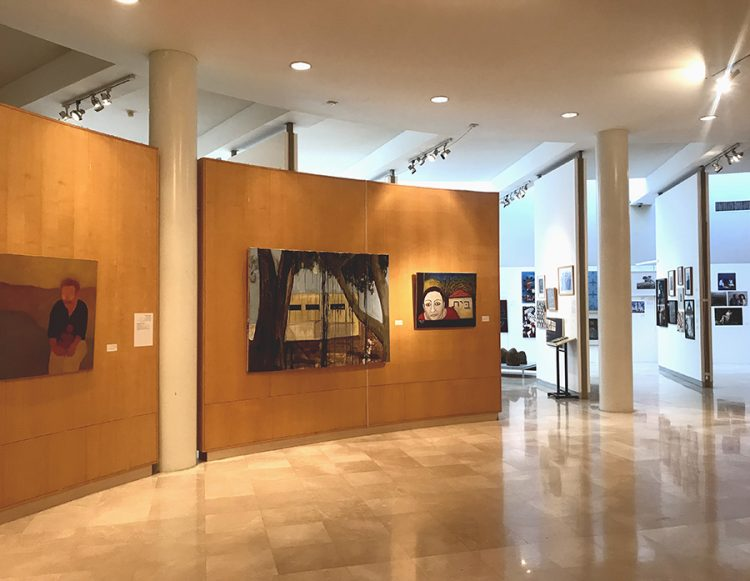 חלל התערוכה. צילום: נטלי אנדריאשביץ'