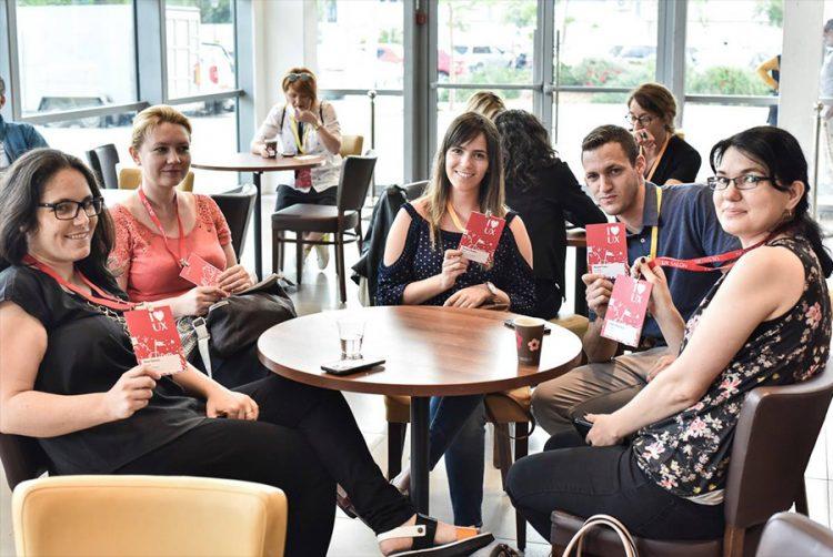 משתתפי הכנס בהפסקת קפה. צילום: UX Salon